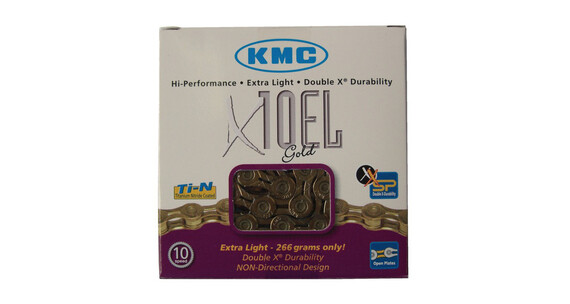 KMC X-10-EL Kette gold
